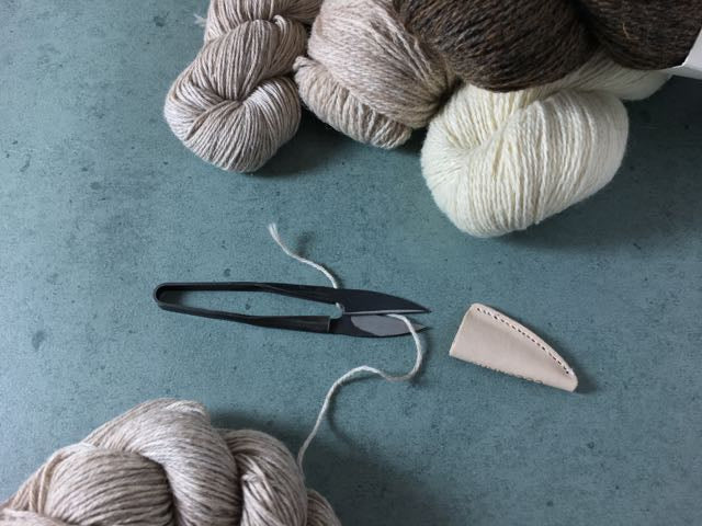 Cocoknits yarnsnip lille garnsaks sysaks lille saks