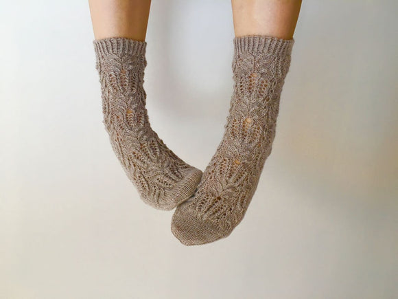 Frost Flower Socks - English
