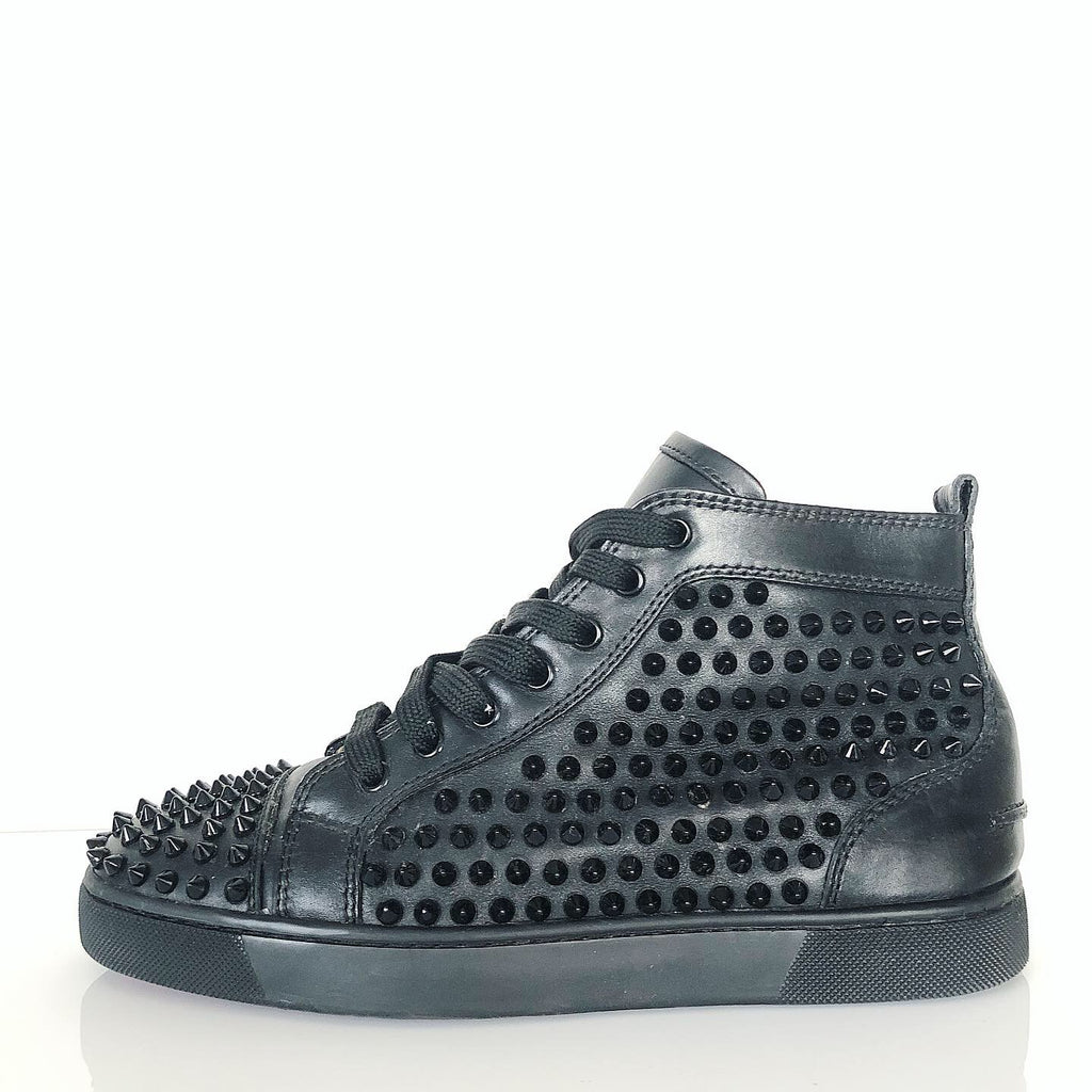 Christian Louboutin Louis Spikes Men's Flat Sneaker