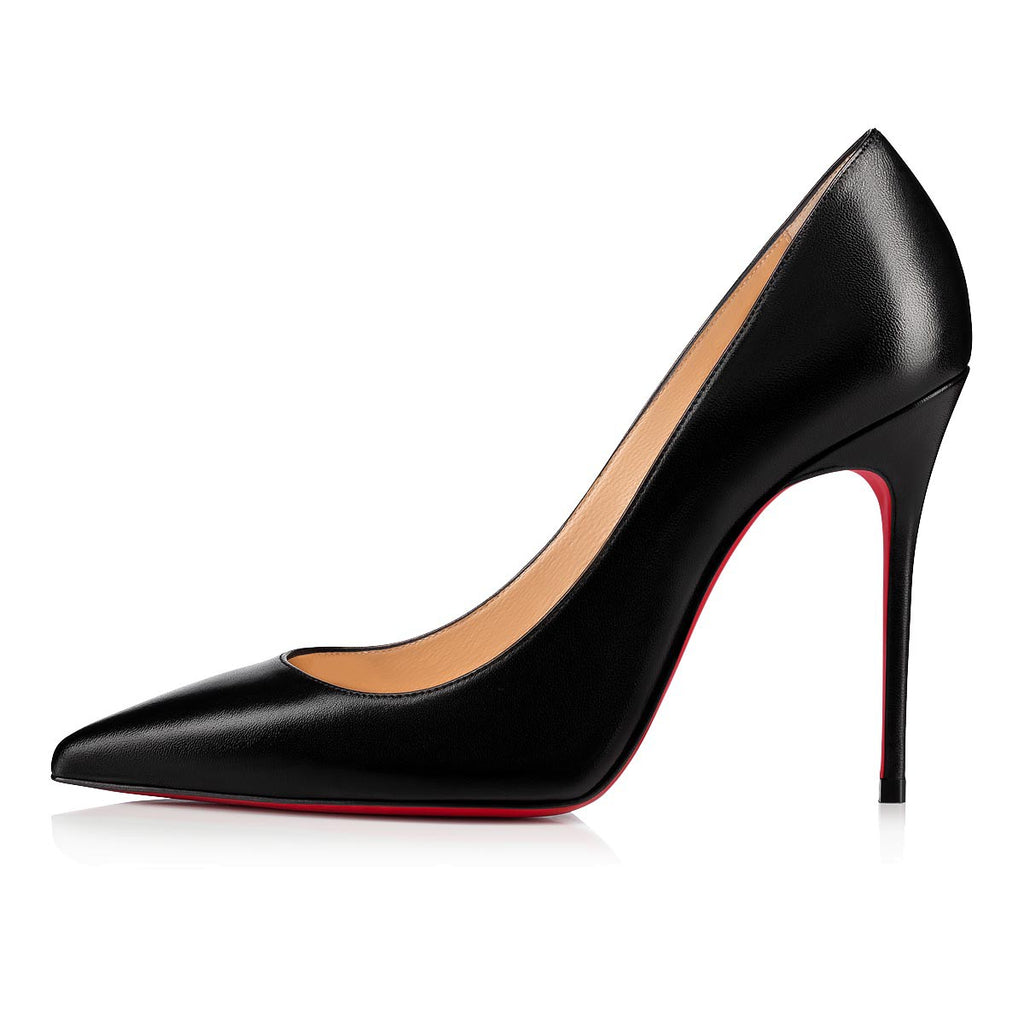 Christian Louboutin Kate 100mm Black Stiletto