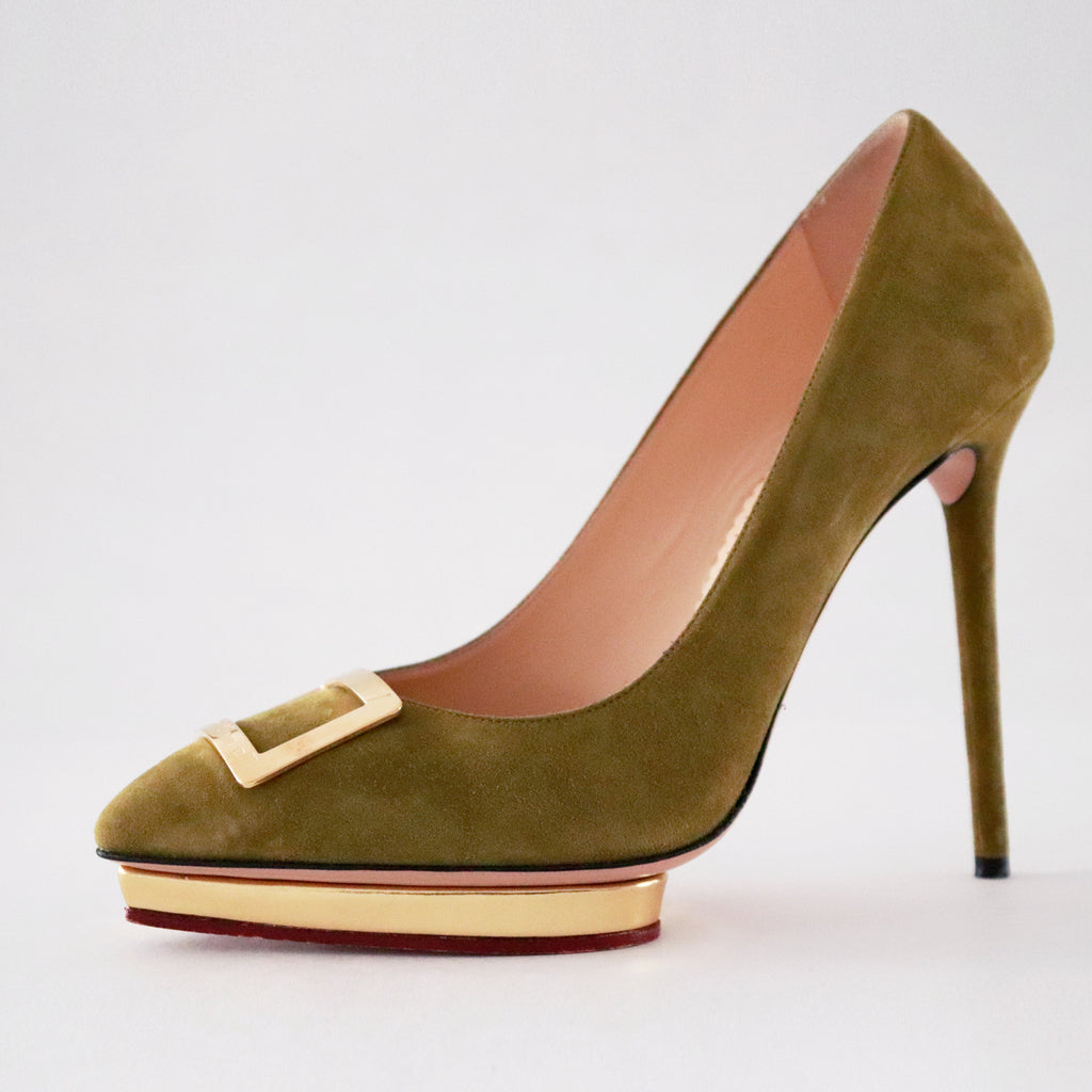 Charlotte Olympia Fairest Of Them All Platform Pumps