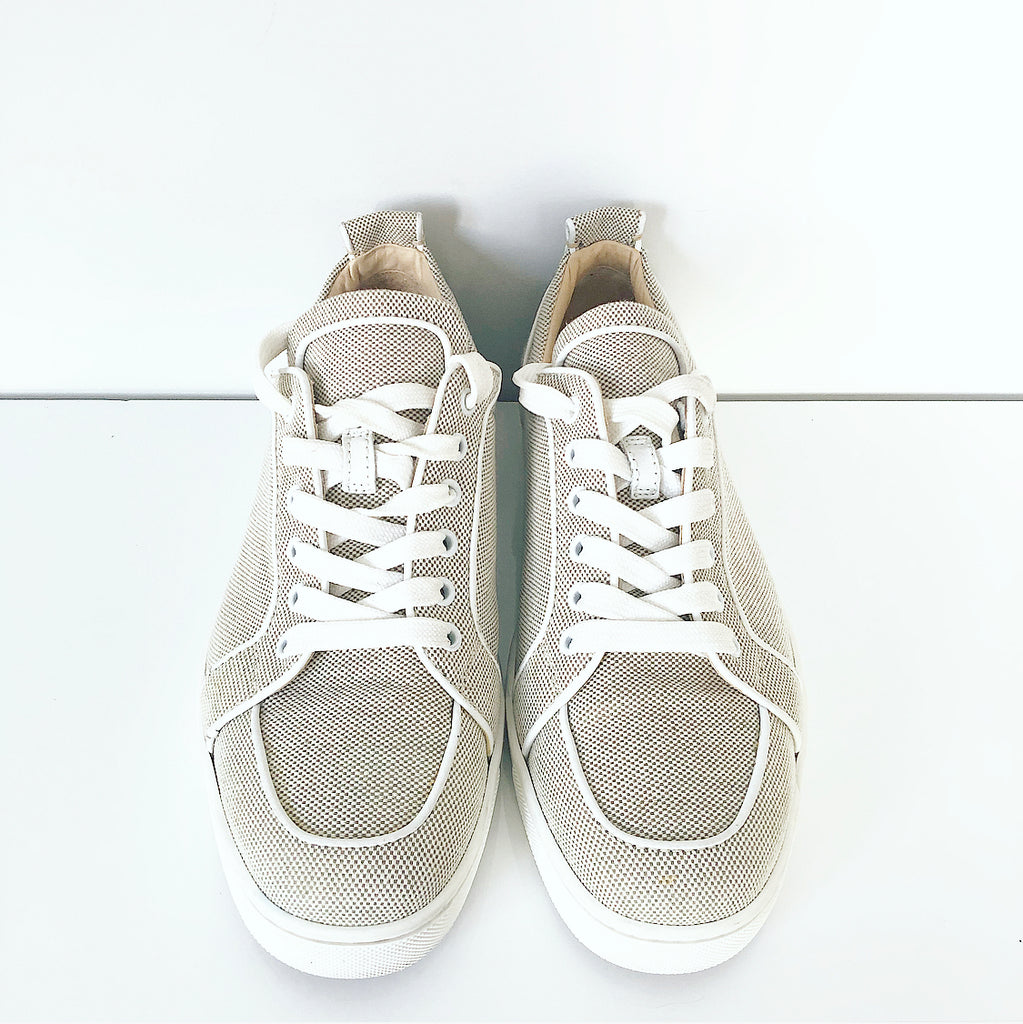 Christian Louboutin Vieira Grey Low Cut Sneaker