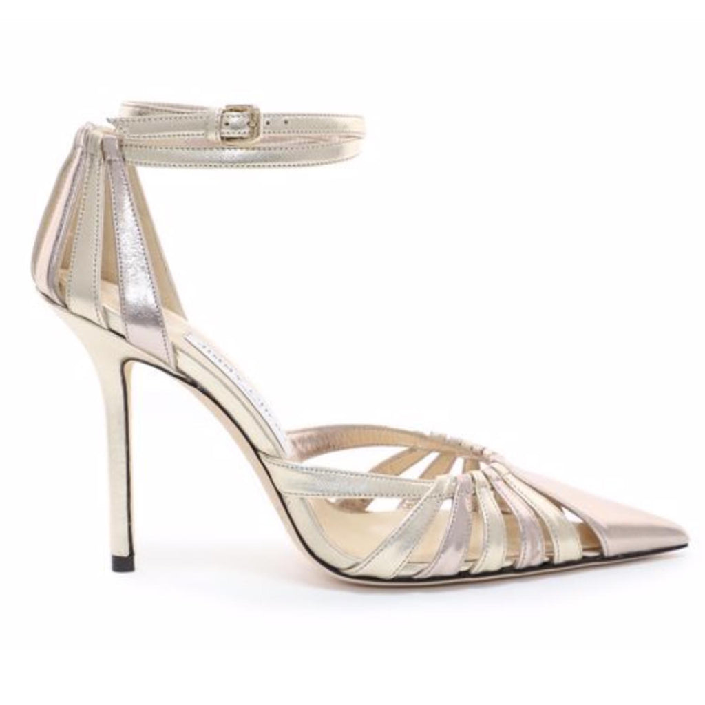 Jimmy Choo Travis Leather 100 Pumps