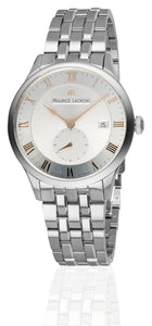 Maurice Lacroix Masterpiece Tradition Petite Seconde Automatik Herren-Armbanduhr Edelstahl-Band MP6907-SS002-111-1
