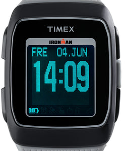 Timex Ironman GPS LCD Fitness Sport Armbanduhr TW5M11800 Running Walking Indiglo Nightlight NEU
