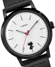 Laden Sie das Bild in den Galerie-Viewer, Timex Marlin Automatic Herrenuhr Charlie Brown Peanuts Snoopy Space Traveler TW2U12600 neu ovp. Box Papiere Grantie