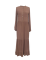 Isla Maxi Dress - Brownie