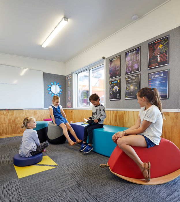 active seating, classroom, modern learning
