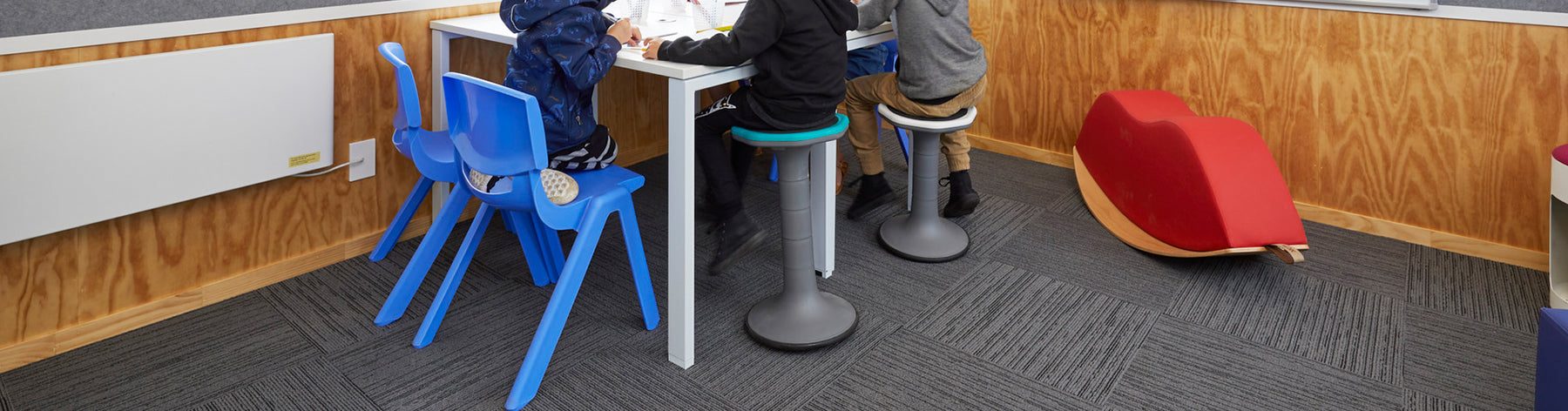 How active seating can benefit children with autism or learning disabilities