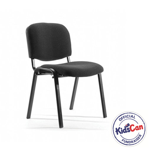 Heavy duty meeting chair for lunch rooms, training rooms