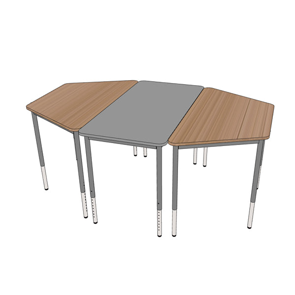Mobel Height Adjustable Straight Table 1200 x 600