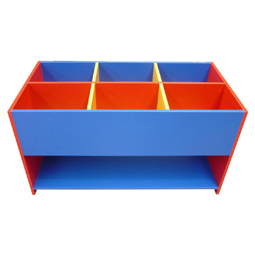 Storage bin for books and classroom supplies