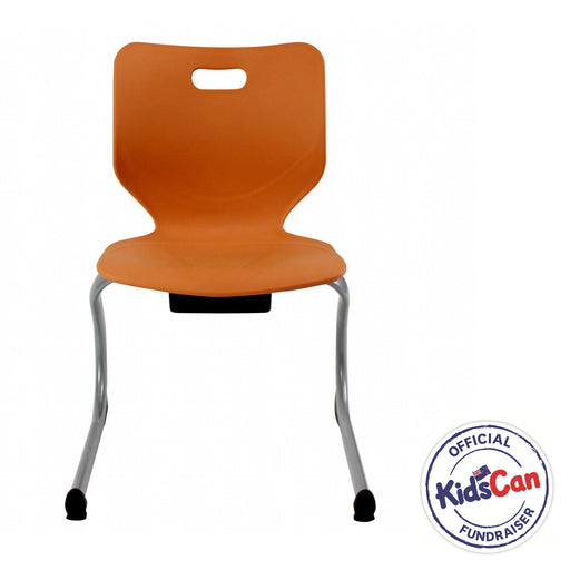 orange classroom chairs nz