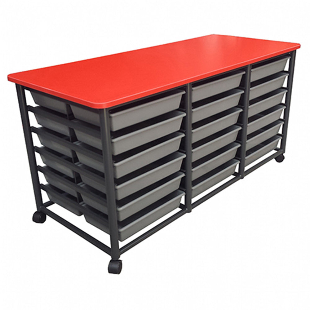 Mobile 36 Tote Metal Frame Storage