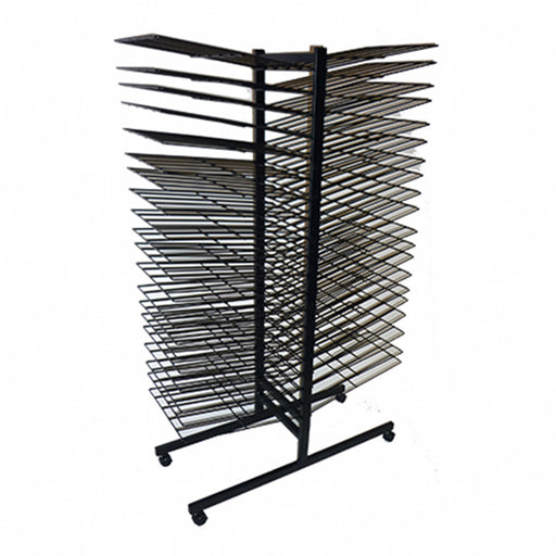 Mobile Art Drying Rack 40