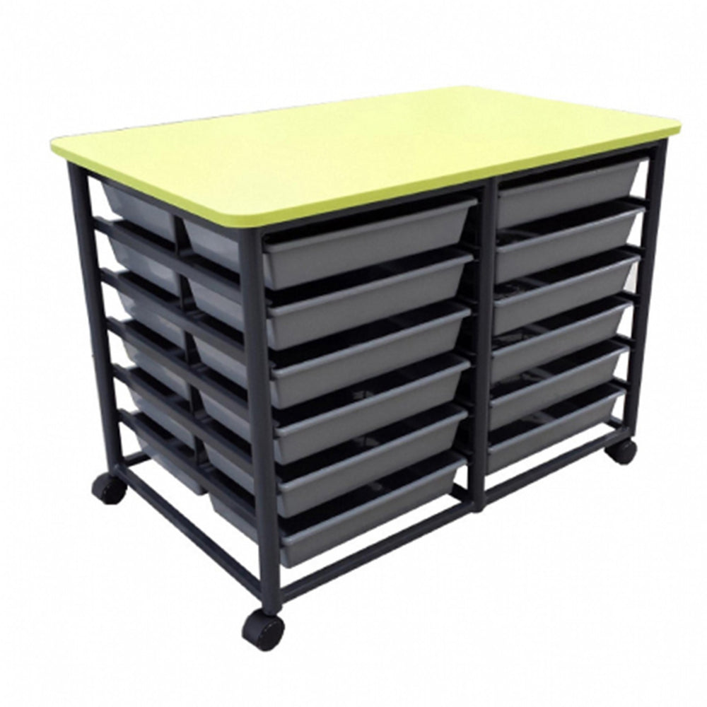 Mobile 24 Tote Metal Frame Storage