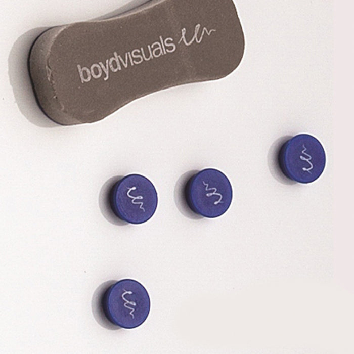 Eraser and set of 4 Magnets