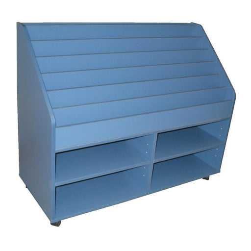 Classroom book display storage unit