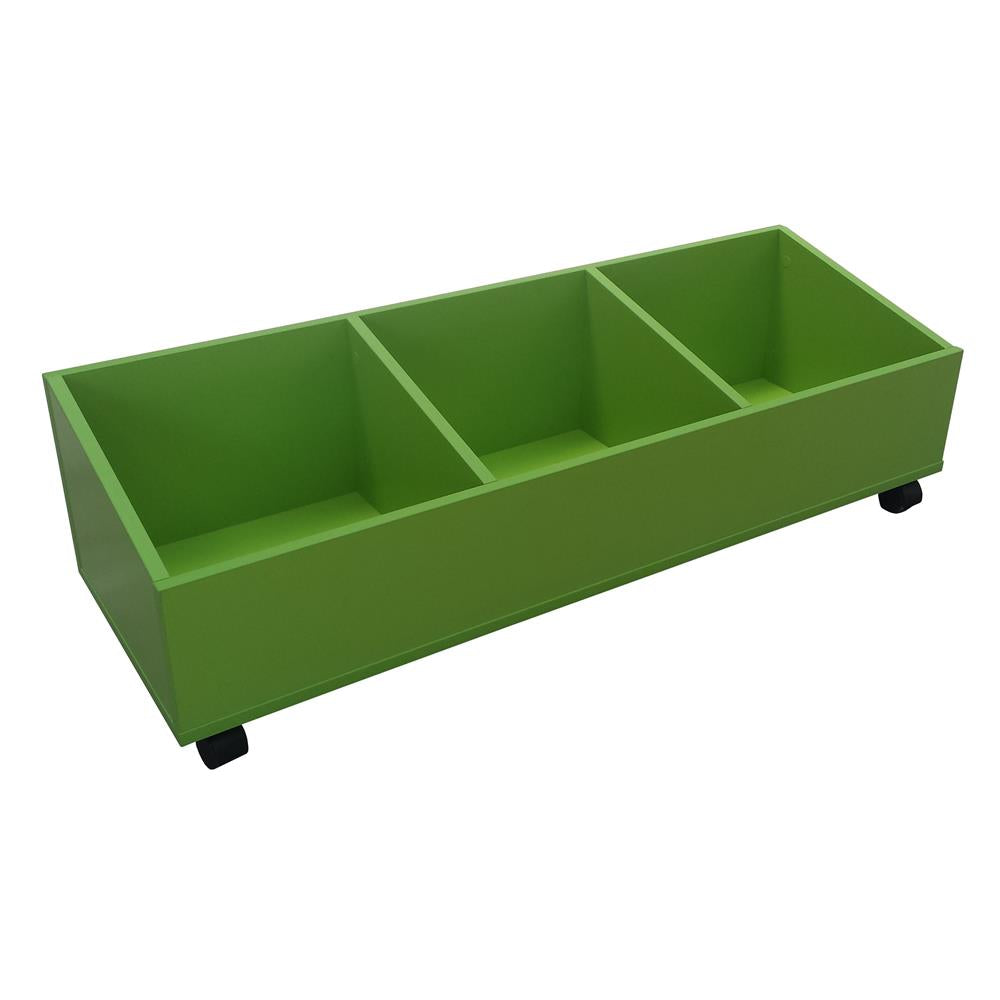 Storage bin for books or other classroom supplies