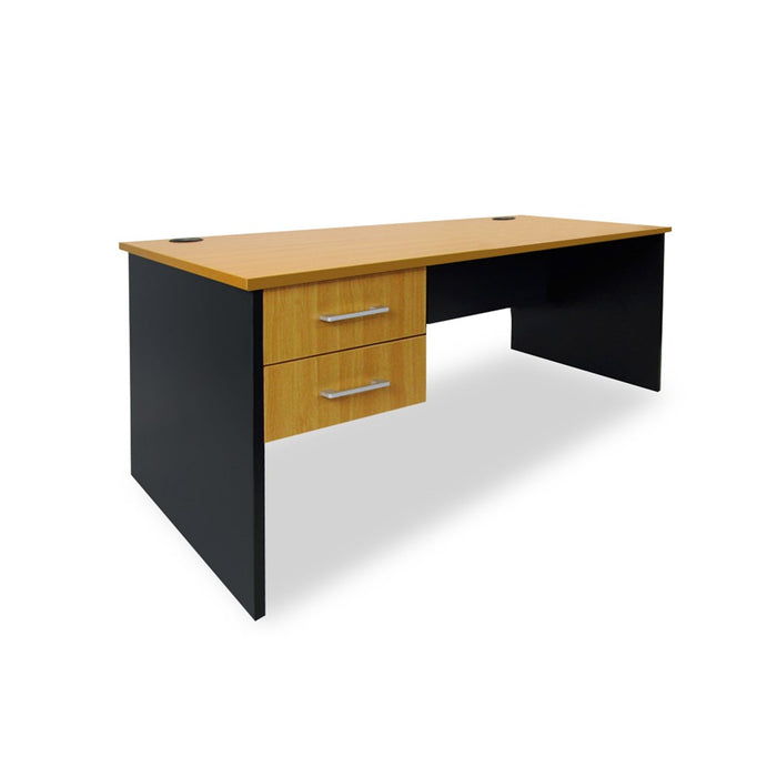 Mobel Delta 1500 Straight Desk with Drawers