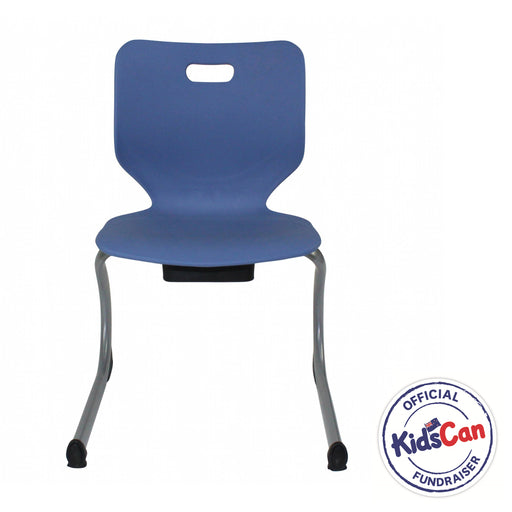 blue classroom chairs