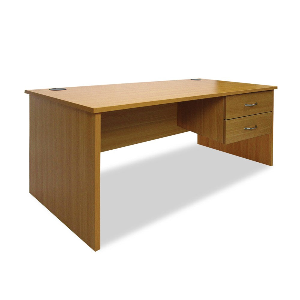 Mobel Haswood 1800 Straight Desk with Drawers