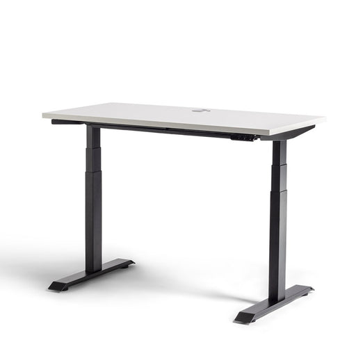 Mobel Rise Electric Height Adjustable Desk – Black / White