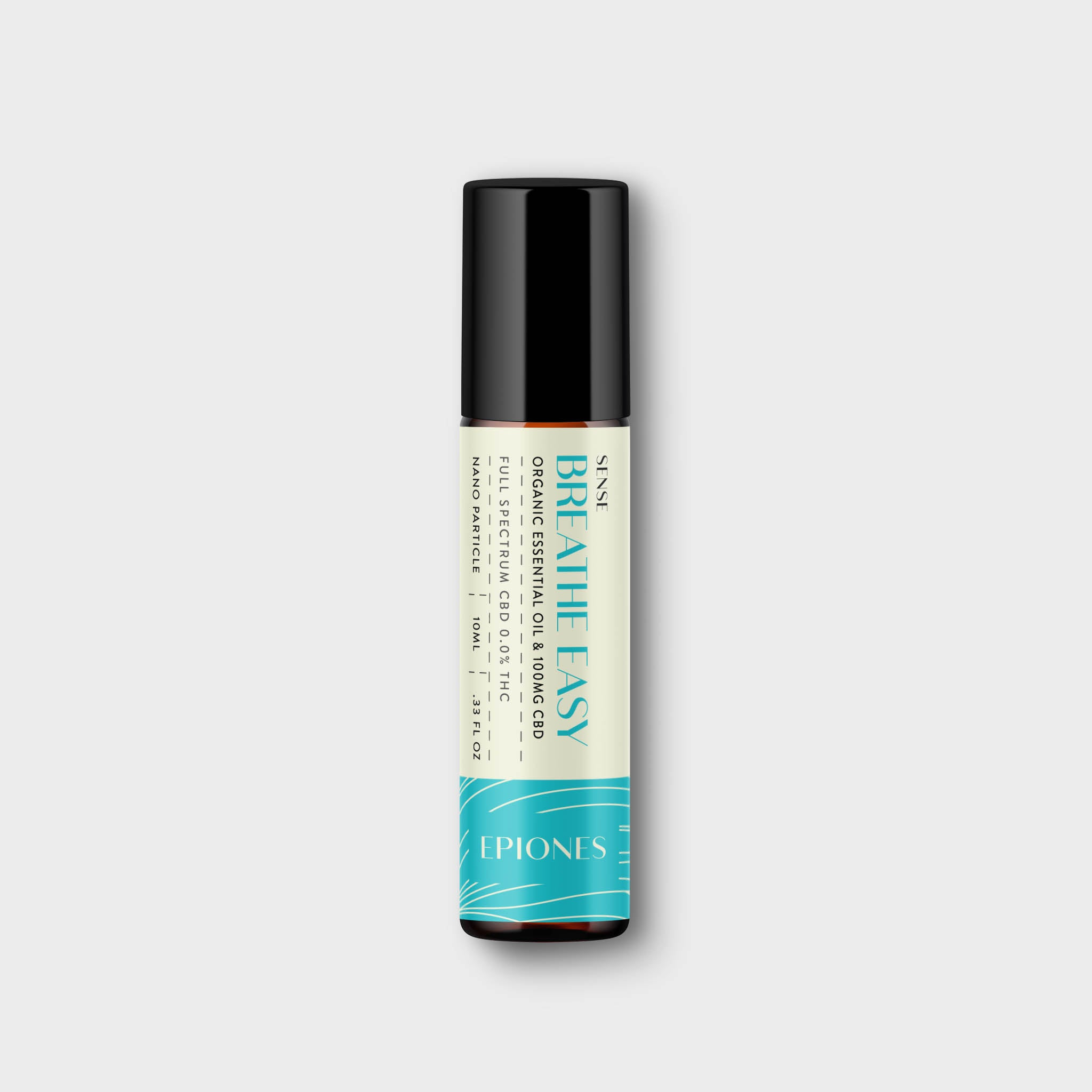 CBD Essential Oil Roller - Breathe Easy