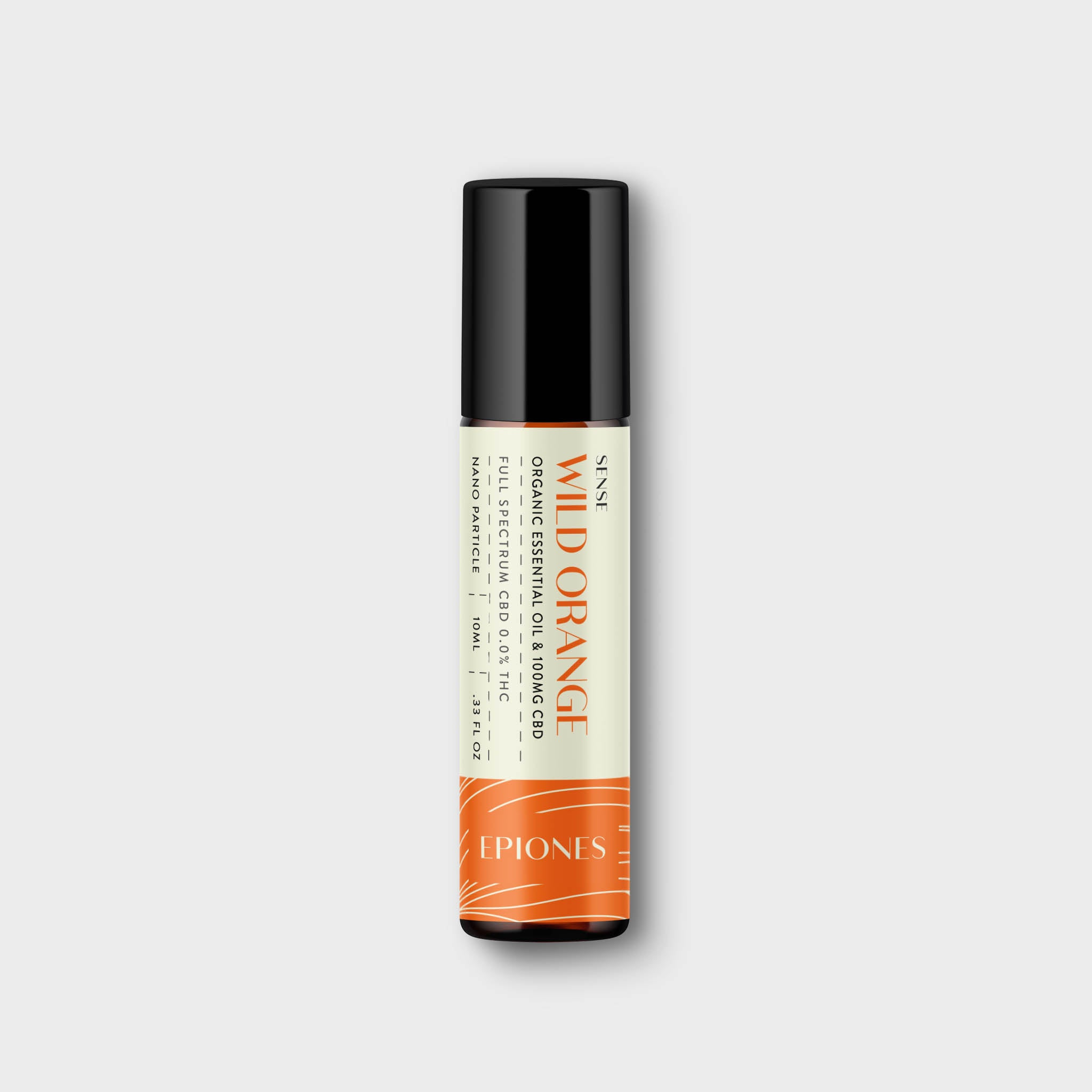CBD Essential Oil Roller - Wild Orange