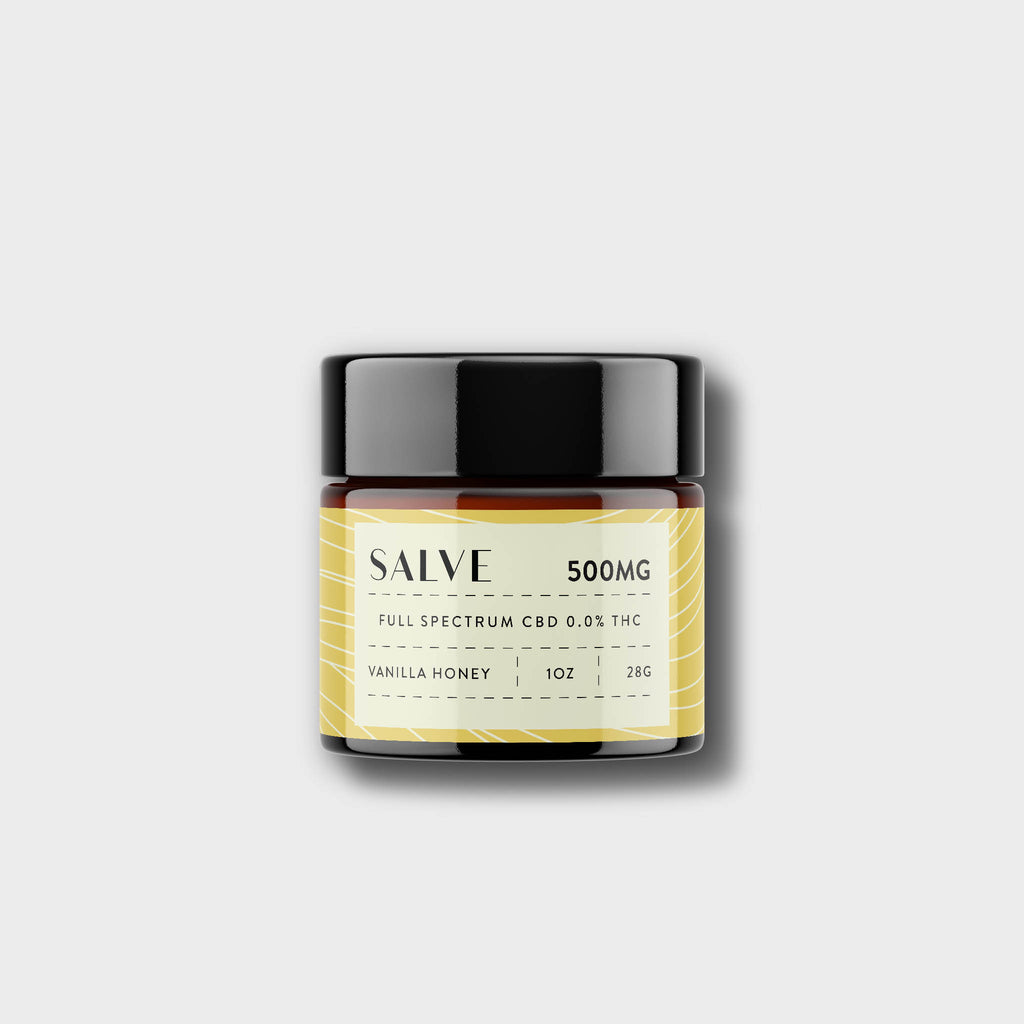 CBD Salve - Vanilla Honey