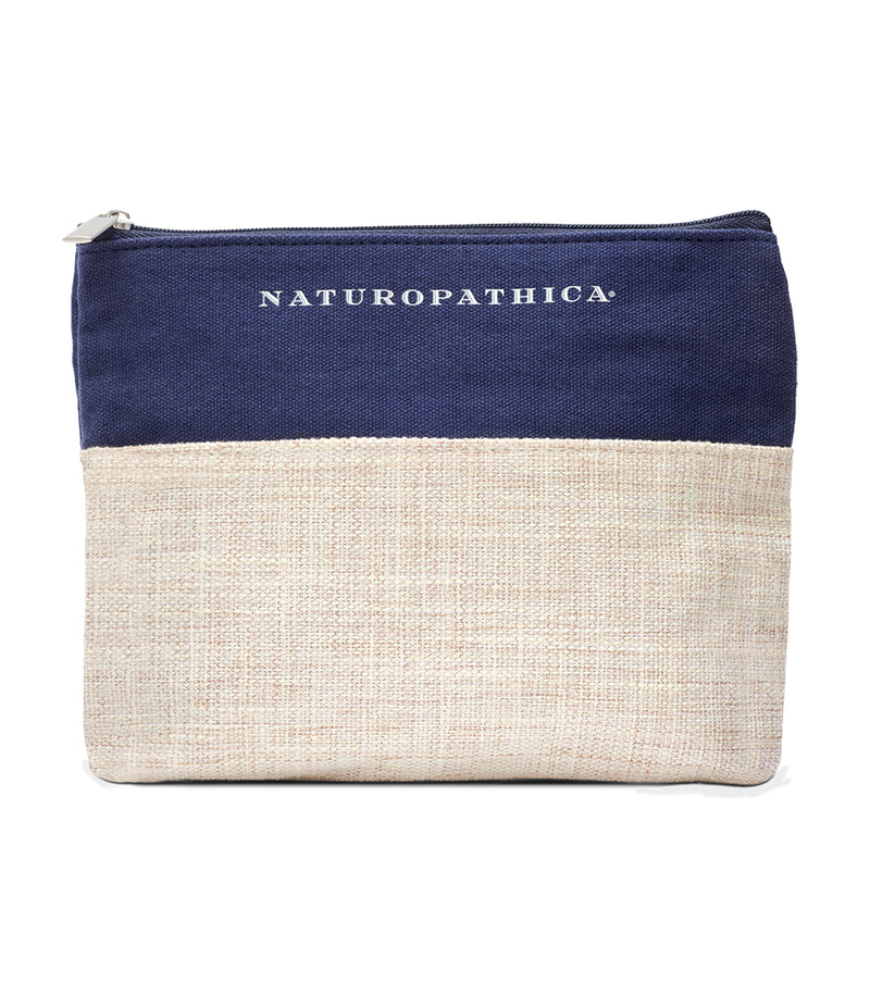 Naturopathica Colorblock Cosmetic Bag