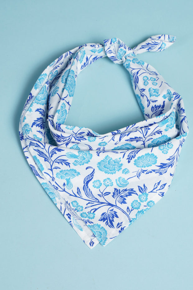 Bandana Cream Blue