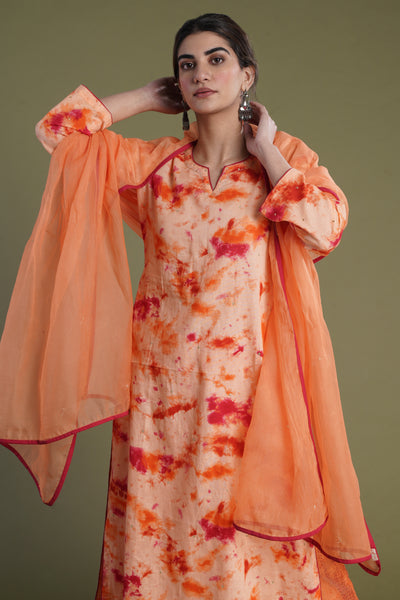 Idaya Dupatta Orange