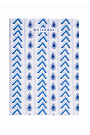 Blue Parcha Notebook