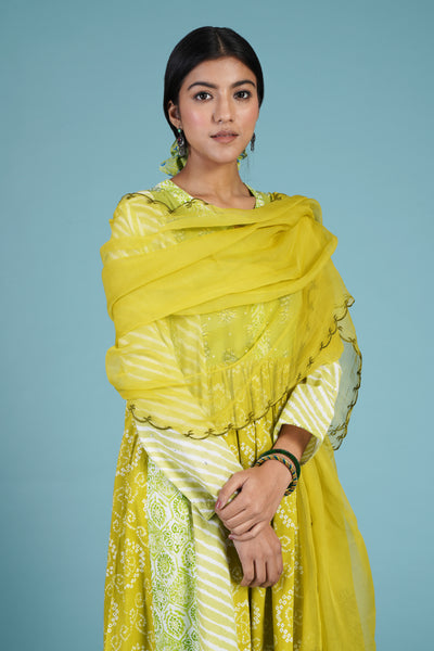 Dreamy Dupatta Green