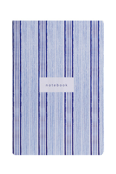Blue Striped Notebook