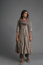 Jacket Kurta-Grey