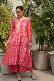 Leela Kurta - Dark Peach