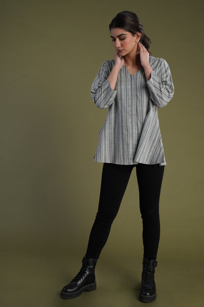 Beachy Tunic Grey
