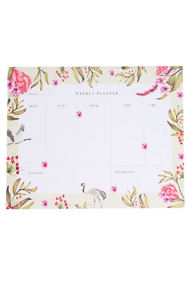 Jaipur Flamingo Weekly Planner
