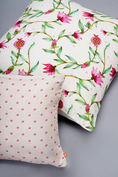 Jaipur - White Floral Cushion Covers