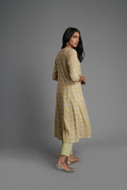 Tropical Kurta-Green