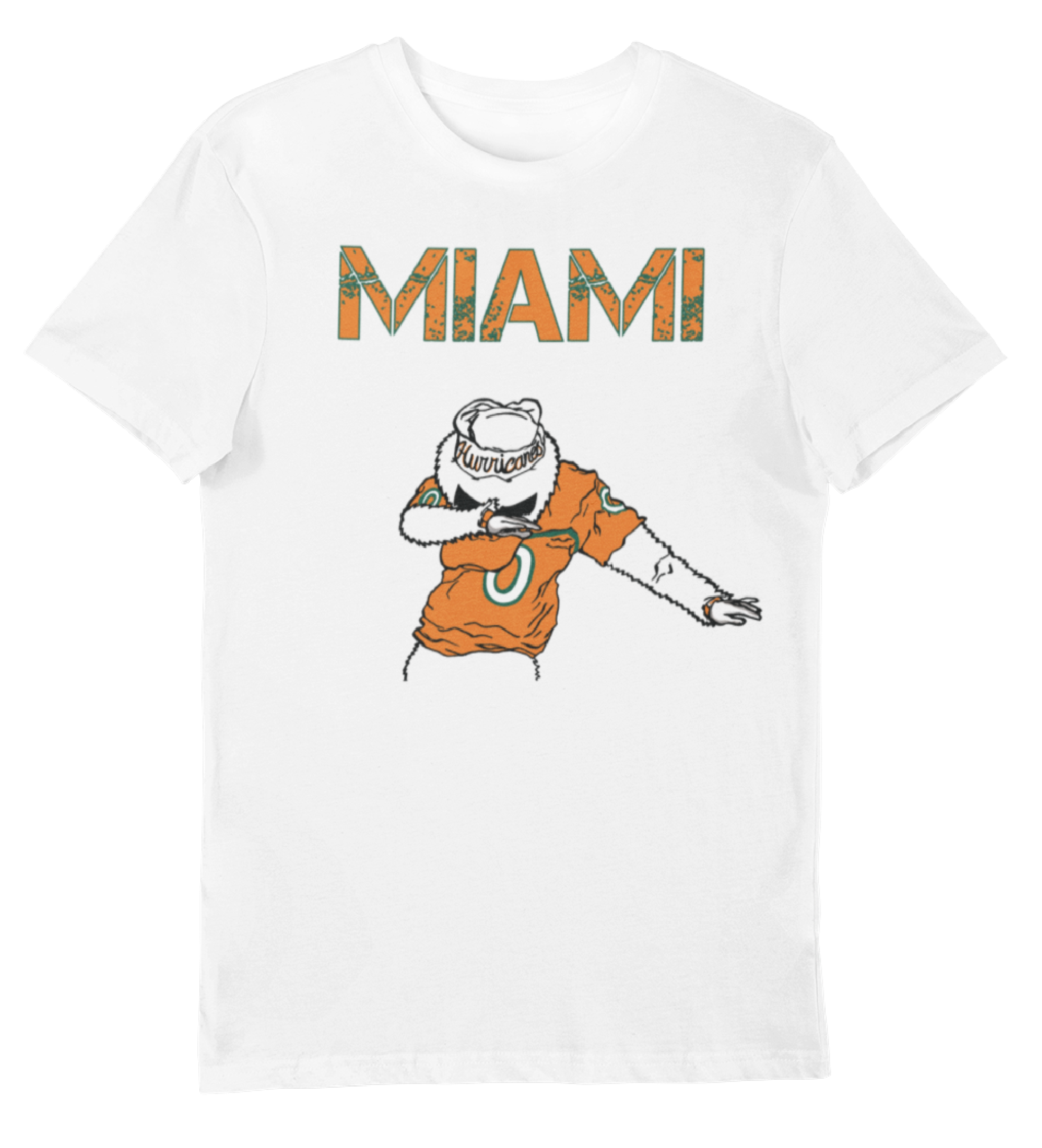 Men's White Miami Dabout T-Shirt