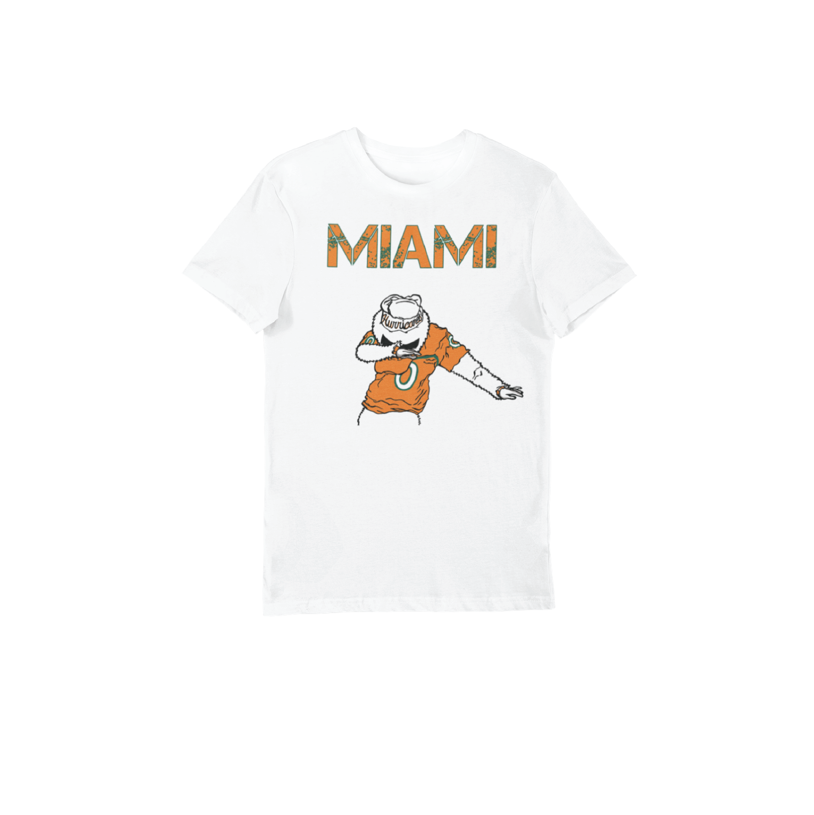 Kid's White Miami Dabout T-Shirt