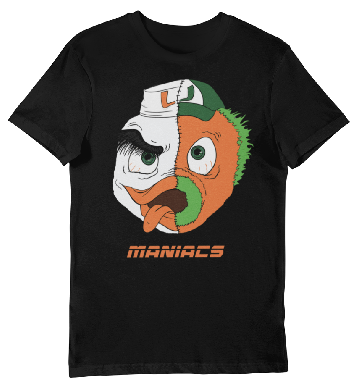 Men's Black Sebastian Maniac T-Shirt