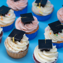 Load image into Gallery viewer, Graduation Celebration Cupcake Box