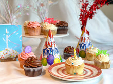 Load image into Gallery viewer, birthday cupcakes