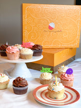Load image into Gallery viewer, Baker's Choice Cupcake Birthday Box