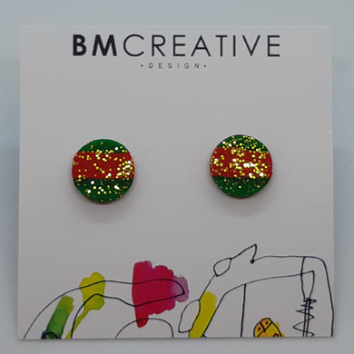 Green+Red stud