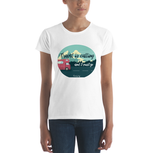 "Camisa Babylong ""Travel is Calling"" Woman"